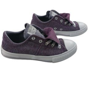 Converse Double Tongue Violet/Purple Sneakers Girl